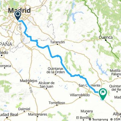 ruta madrid -la roda