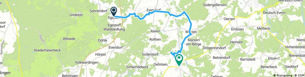 Egestorf - Amelinghausen 25,5 Km