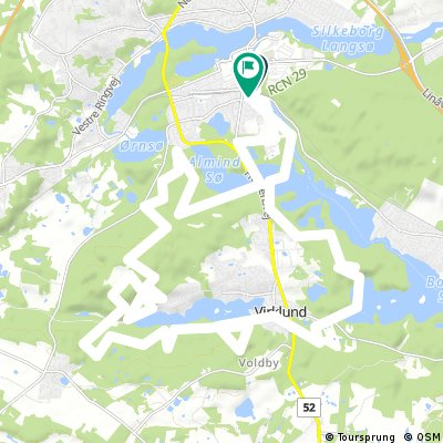 Silkeborg - Himmelsberg 2 | Bikemap - Your bike routes