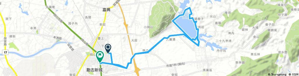 Kangshan Agongdian Reservoir Bikeway