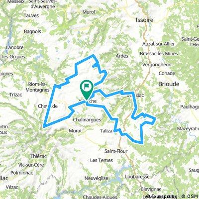 Vélo en Auvergne