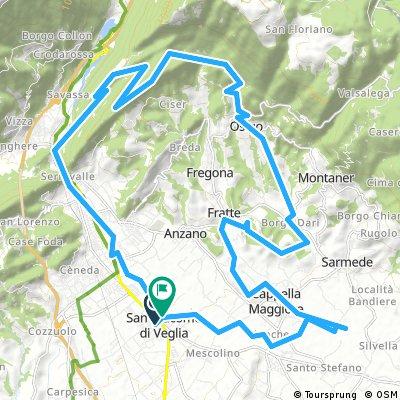 I fiumi di Vittorio Veneto e l'alta via n°6