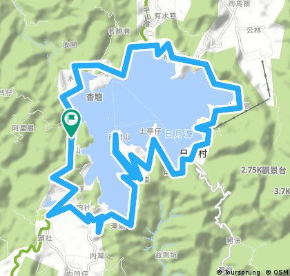 Sun Moon Lake Come! Bikeday, Nantou, Biking Taiwan