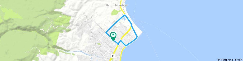 Short ride through Punta Arenas