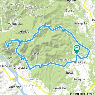 Maggiora, Soliva, Castagnola, Monte Fenera
