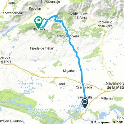 Etapa 5: Almaraz - Piornal - Barrado (Jerte) 60 km