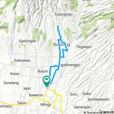 ride through Wlingi