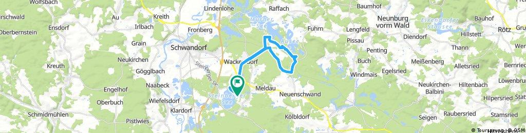 Seenland Triathlon Sprintdistanz 25km