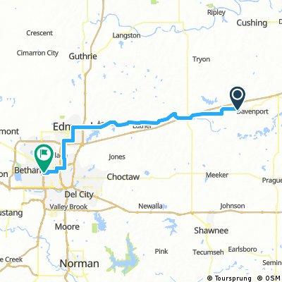 20161001 ACA Route 66 Westbound Chandler OK - Oklahoma City OK #acaE6C2_2016
