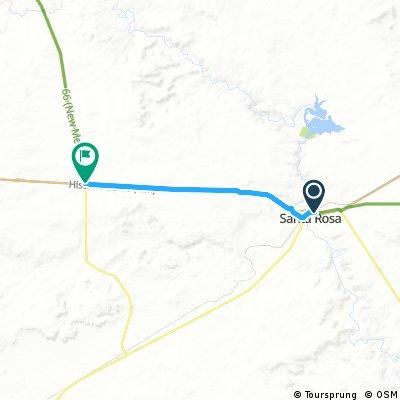 20161012 ACA Route 66 Westbound Tucumcari NM - Junction US 84 #acaE6C2_2016