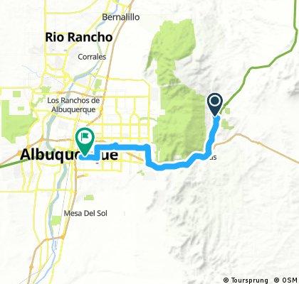 20161016 ACA Route 66 Westbound Cedar Crest NM - Albuquerque NM #acaE6C2_2016
