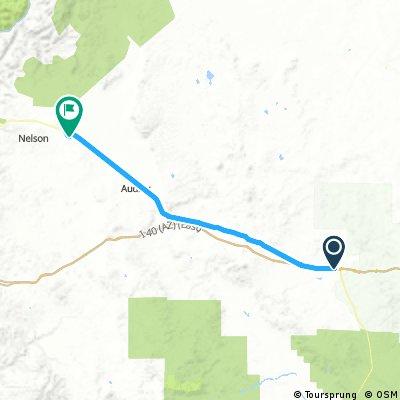 20161026 ACA Route 66 Westbound Ash Fork AZ - Grand Canyon Caverns