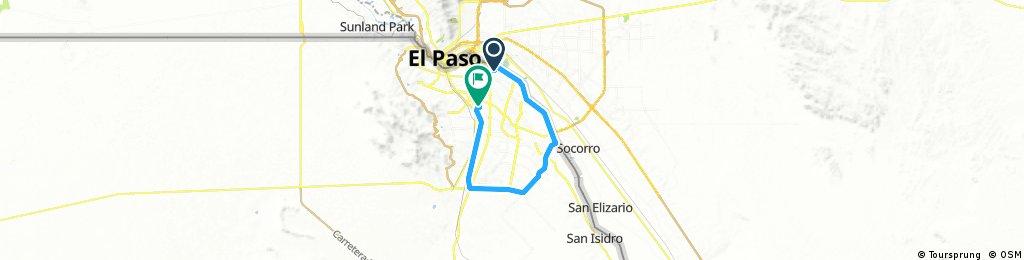 4 Siglos Long ride through Ciudad Juárez