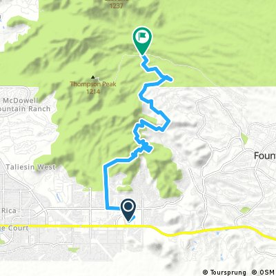 N Scottsdale Tour Loop (part 1)