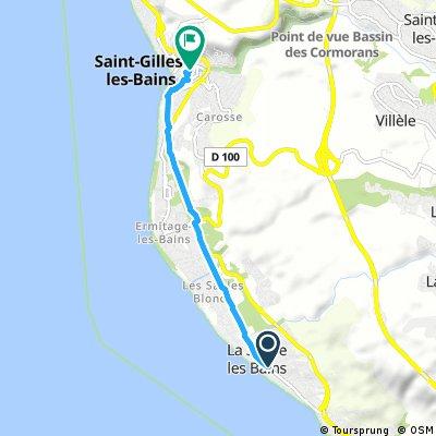 Saline les Bains -> St-Gilles les Bains (transport)
