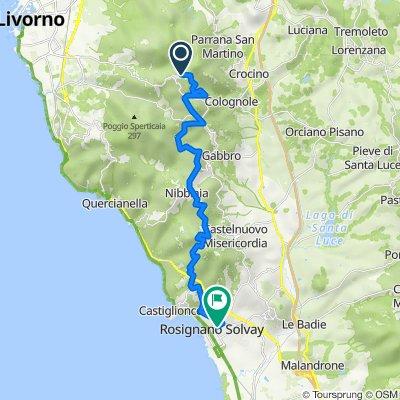 Valle Benedetta-Colognole acquedotto-Gorgo-Nibbiaia-Ros Solvay