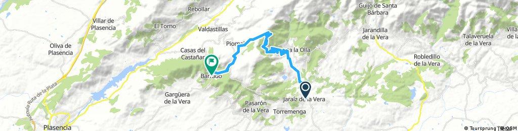 Etapa 5: Jaraíz - Piornal - Barrado, 30 km
