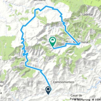 Etapa 8: Pinofranqueado - El Gasco, por Las Hurdes, 67 km