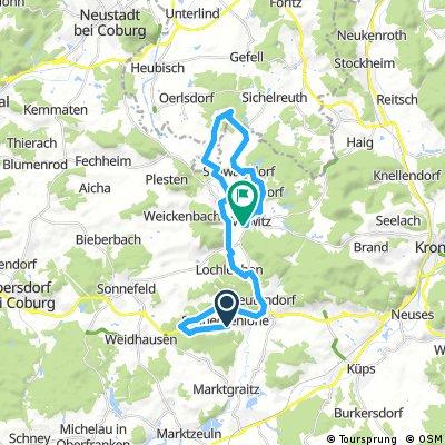 RSV Schneckenlohe 1 Advent Tour Mitwitz