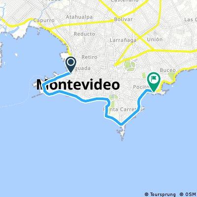 bike tour through Montevideo