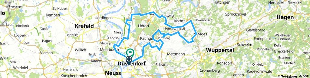 CCD 107 km hügelig  Niederbergbahn