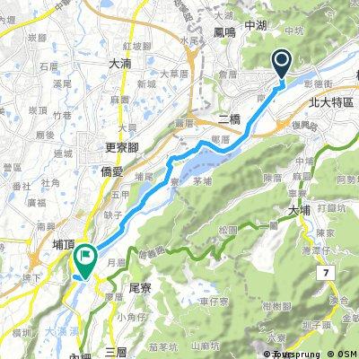大溪橋-三鶯-河濱之旅