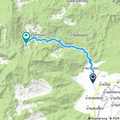 Lengthy ride through Ban Phonsawan