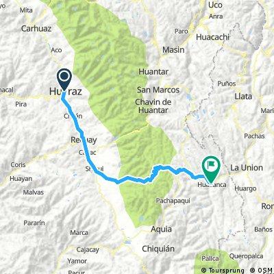 Huaraz - Huallanca