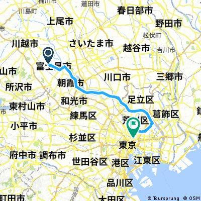 to 新木場