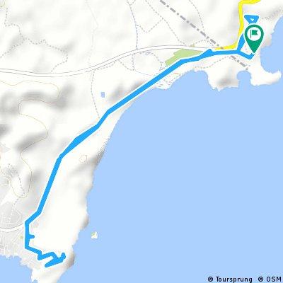 Playa Carolina- SanJuan- Castillos de los Terreros und retour