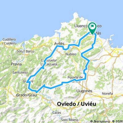 Candás - Lugo de LLanera - Avilés -  Candás