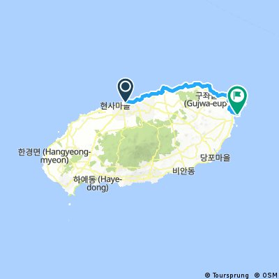 South Korea on Bike 2016