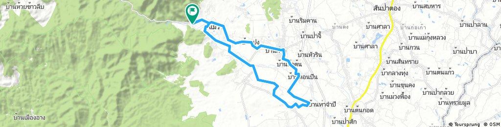 Tour 1 - Mae Wang surroundings