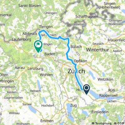 Wädenswil- Rhein-Brugg