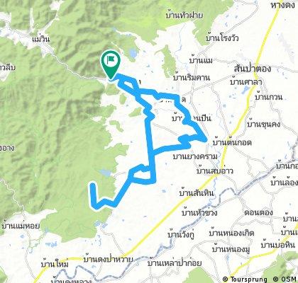 Tour 3 - Bankad - Phra Phikkhanet - Pha Chor Canyon
