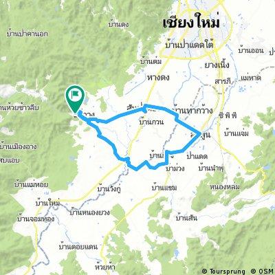 Tour 6 - Chiang Mai - Lamphun loop