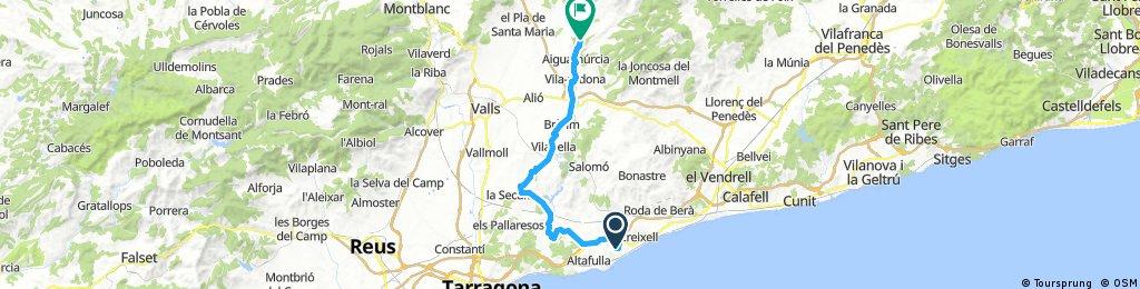 TORREDEMBARRA - SANTES CREUS