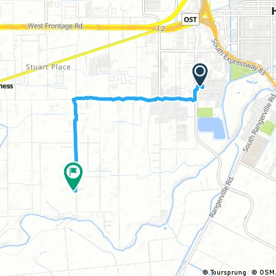 Short bike tour from Harlingen to Stuart Place