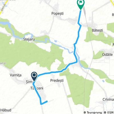ride from Tăriceni to Ploiești