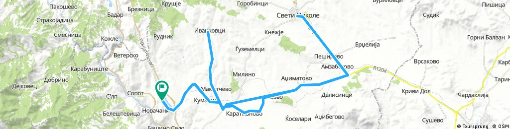 (road) Otovica-Sv.Nikole-Veles