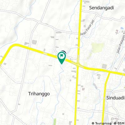 Brief bike tour through Sinduadi