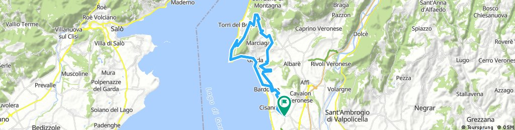 Long ride through Bardolino