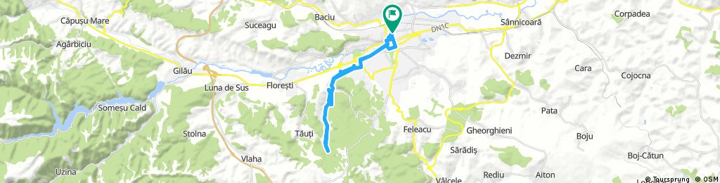 Ride through Cluj Napoca and Faget