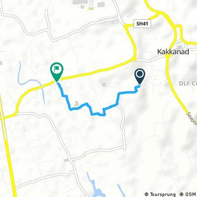 Short ride from Kakkanad to Ernakulam