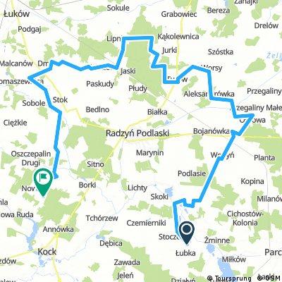 Koncepcja szlaku Greenway powiat radzyński