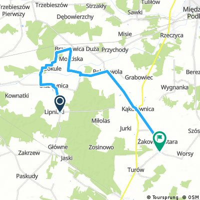 Koncepcja szlaku gminy Kąkolewnica