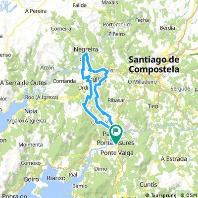 73 km A Negreira