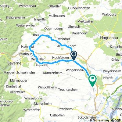 vendenheim - bouxwiller - vendenheim