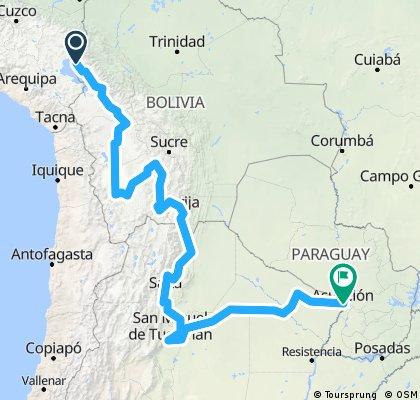Warmifonias Bolivia - Argentina