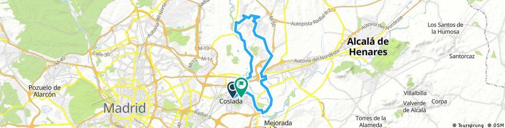 Coslada - Paracuellos del Jarama - Las Guindaleras - Picón del Cura - Coslada